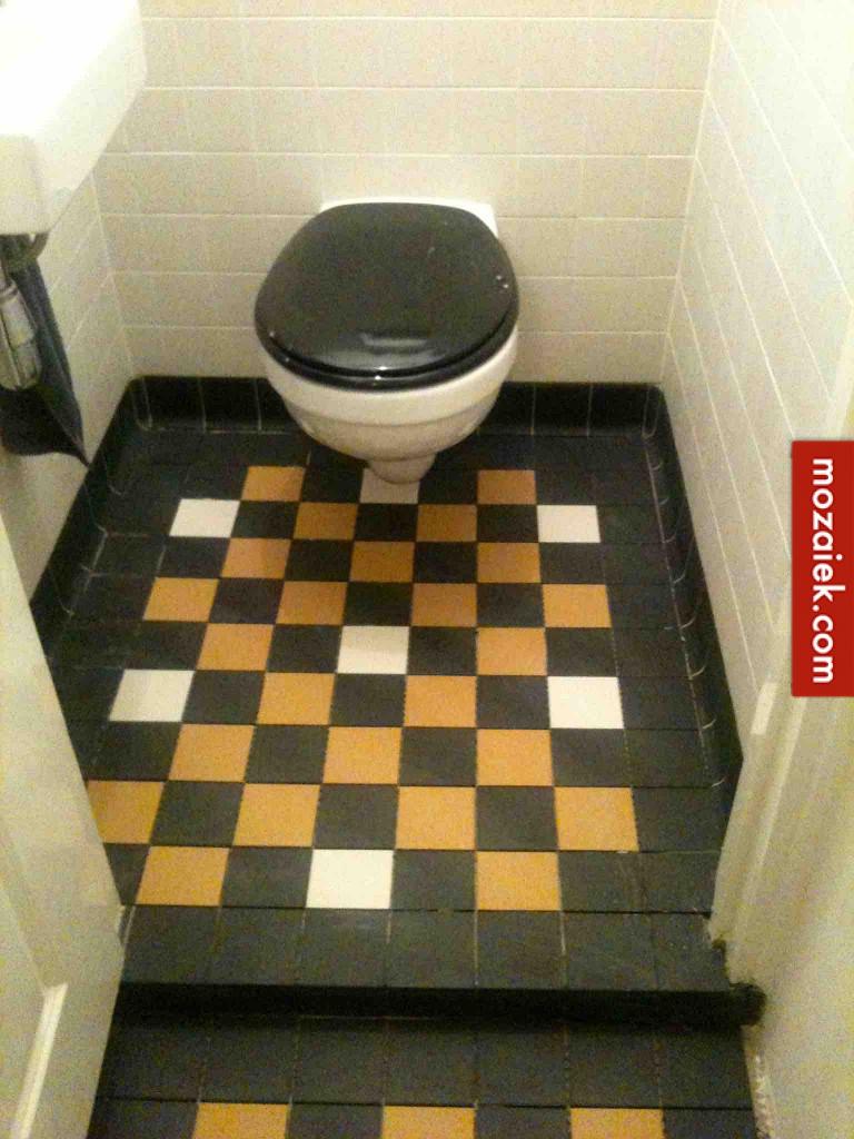 tegel voor gang en toilet