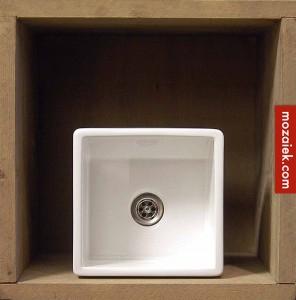 vierkant fonteintje wit