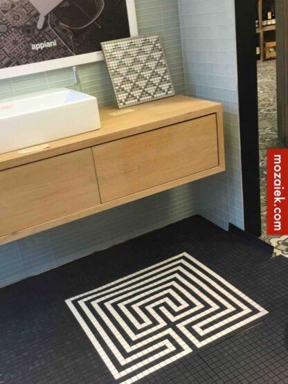 labyrint in tegels