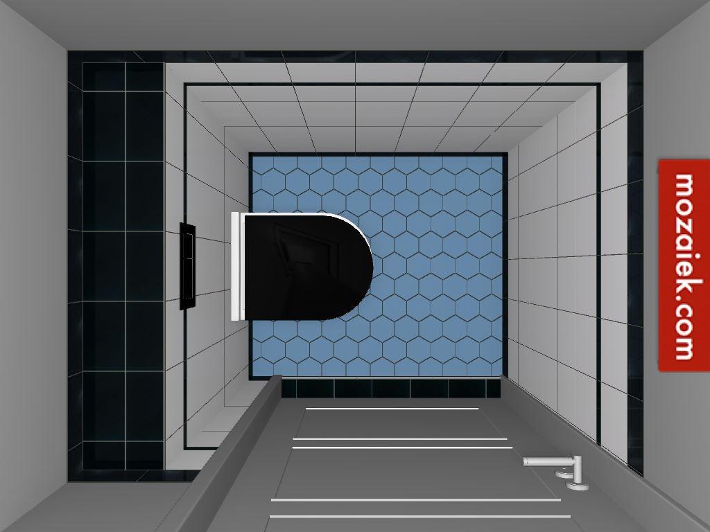 Zoek de verschillen hexagonvloertegels voor toilet tegels voor