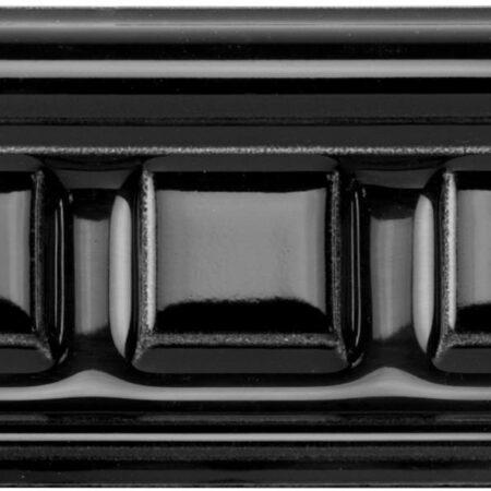 herenhuis anno 1900 lambrisering hoge rand 75×152 zwart glans | klassiek