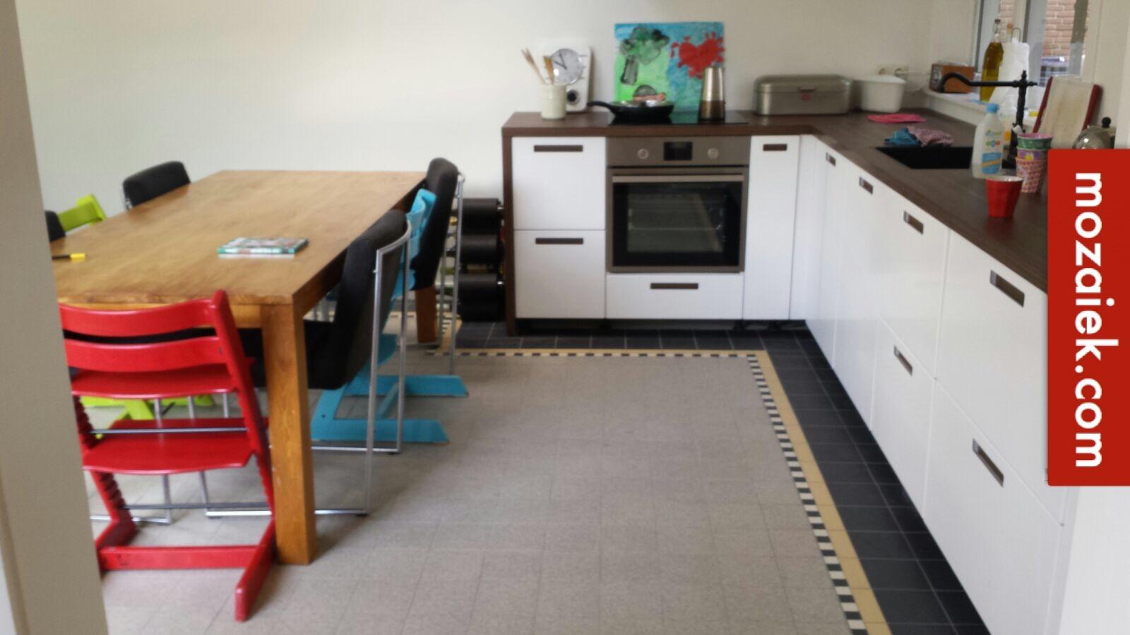 Keuken Tegels Mozaiek : Duubelhardgebakken tegels voor een probleemloze vloer voor keuken