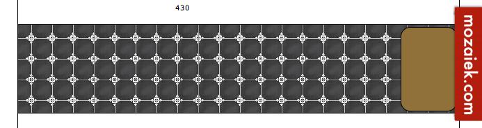 sample 12mm dunne cementtegel 20x20cm | incl. verzendkosten 9,50 euro