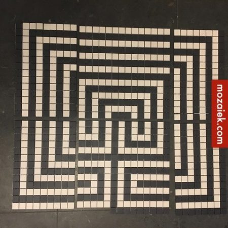 labyrint winckelmans mozaiek 2×2 cm
