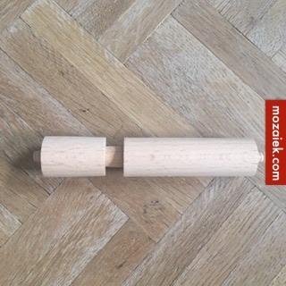 toiletrolhouder 151×151 off white  | bij gelijktijdig bestellen zeepbakje 15 euro duokorting