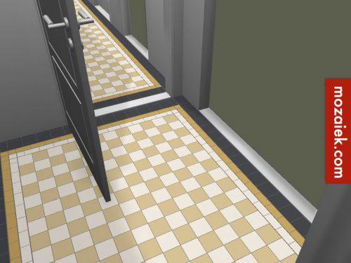 Onwijs jaren 30 woning leiden advies tegels entree, toiletten, keuken en CR-29