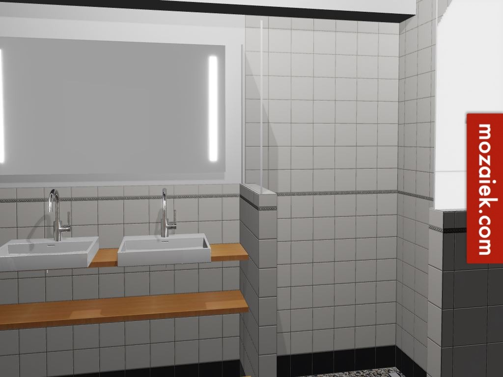 Uitgelezene tegelmodule ook voor badkamer in jaren 30 stijl | waarom bestellen IQ-67