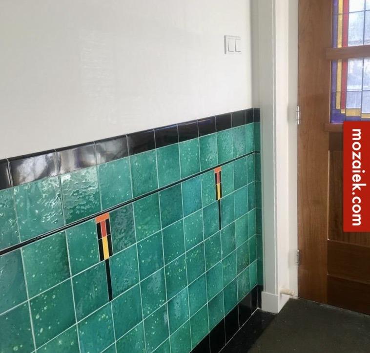 glas in lood en amsterdamse schooltegels