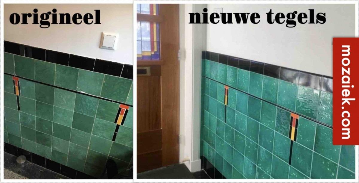 amsterdamse schooltegels van mozaiek.com in haarlem