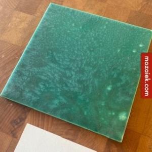 gewokte groene tegel valentino 151x151x8
