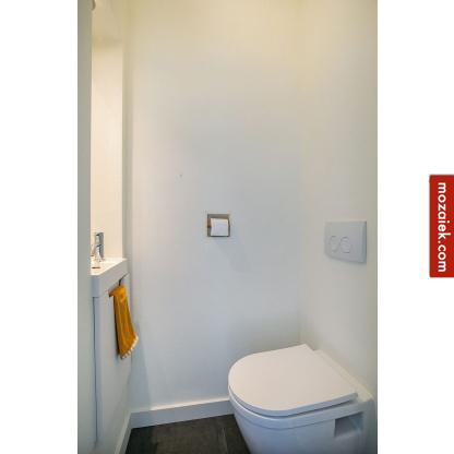 naked keramiek toiletrolhouder gestuukt toilet